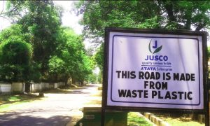 Can Roads Made With Recycled Plastic Help Reduce Pollution?