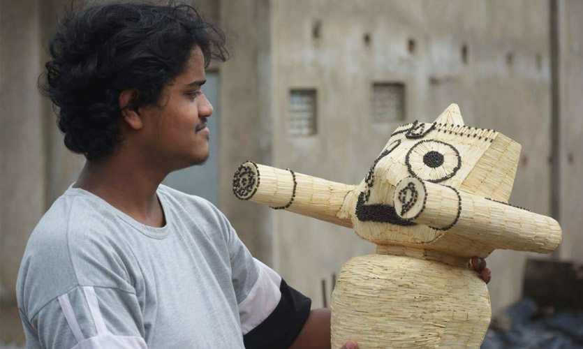 Teen Matchstick Artist Makes It To 'India Book Of Records' For His Creations