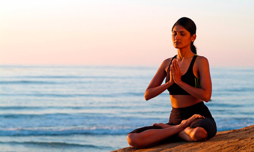 Meditation techniques helps for better sleep