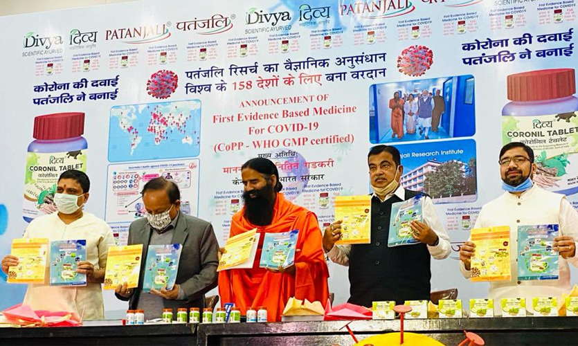 Falsely Claimed Cure For Coronavirus Lands Patanjali In Trouble