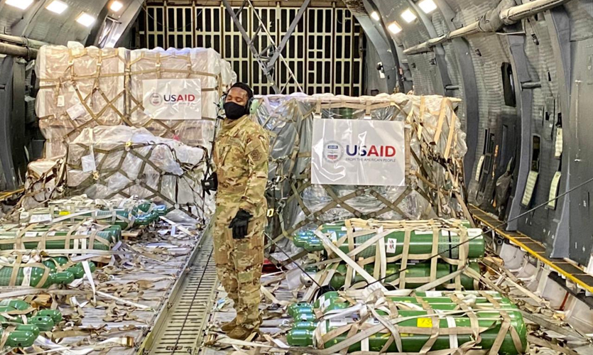 India's First COVID-19 Relief Aid Arrives From The US