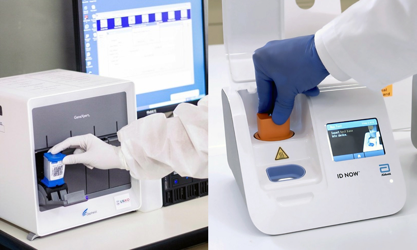 Are CB-NAAT and ABBOTT ID NOW Better Than RT-PCR?