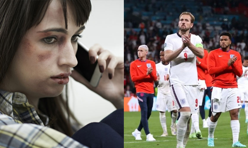 Twitter Shares Helplines For Domestic Abuse As England Loses Euro 2020