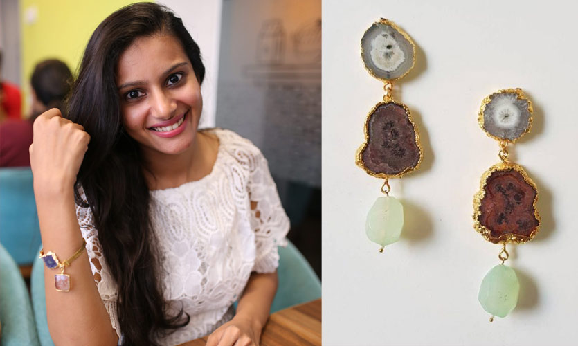 My Meera Store Uses Natural Stones For Each Piece Of Jewellery