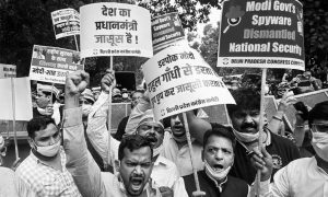 """Is mass surveillance in India a precursor to an """"Orwellian"""" state?"""