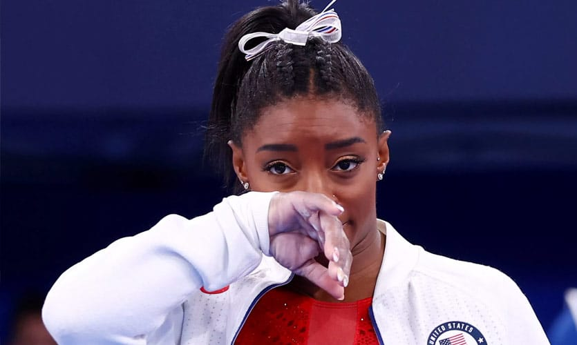 Simone Biles' Decision To Withdraw From The Olympic Finals Fuels Conversations Around Mental Health