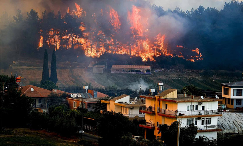 Turkey Wildfires Kill Four People, Add To The Growing Concern Of Climate Change