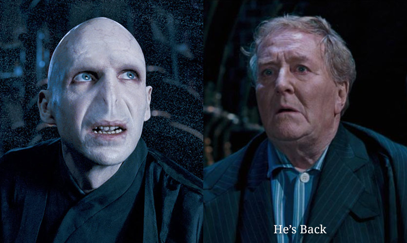 The Fear Of The Pandemic Feels Similar To The Return Of Lord Voldemort