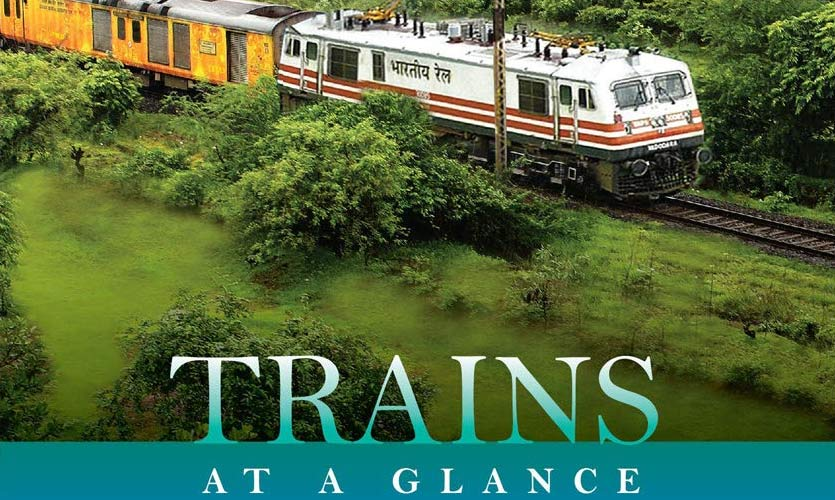 Indian Railways' Guide 'Trains At A Glance' Goes Digital