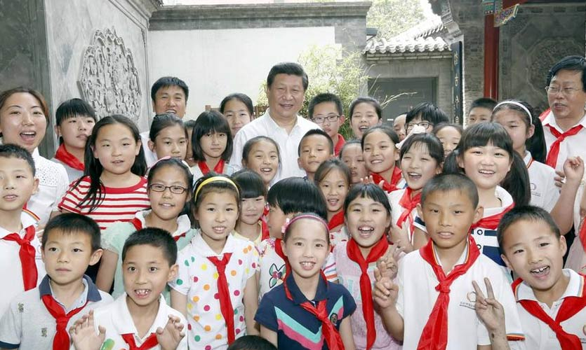 'Xi Jinping's Thought' To Be Taught To School Children In China