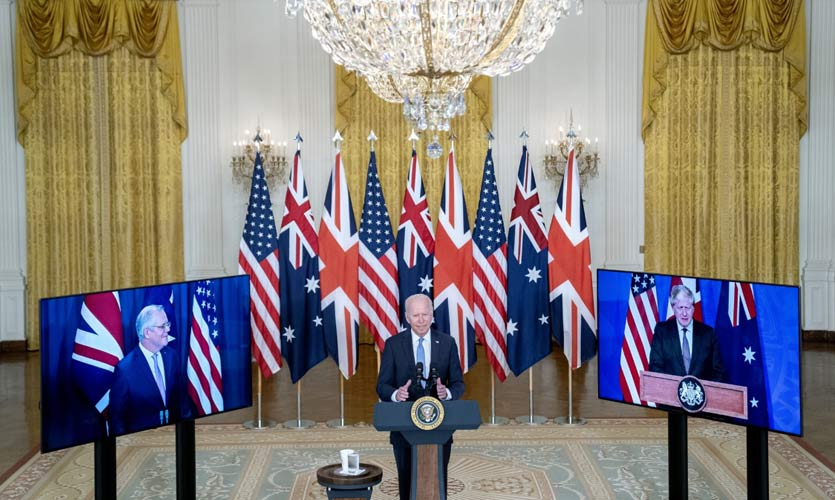 Australia, Britain And The US Announce A Trilateral Indo-Pacific Alliance Ahead Of QUAD Summit
