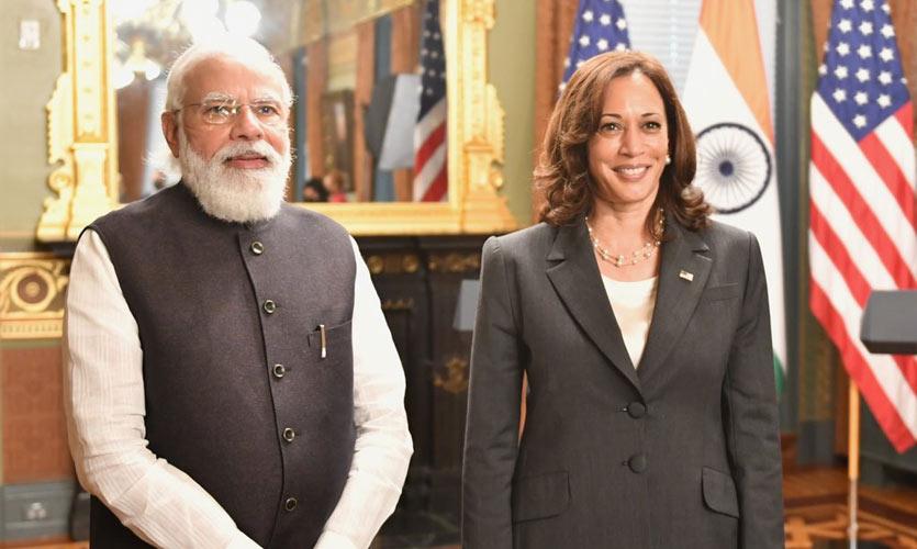 Pakistan's Terror Links Dominate Bilateral Talks Between Kamala Harris And PM Modi