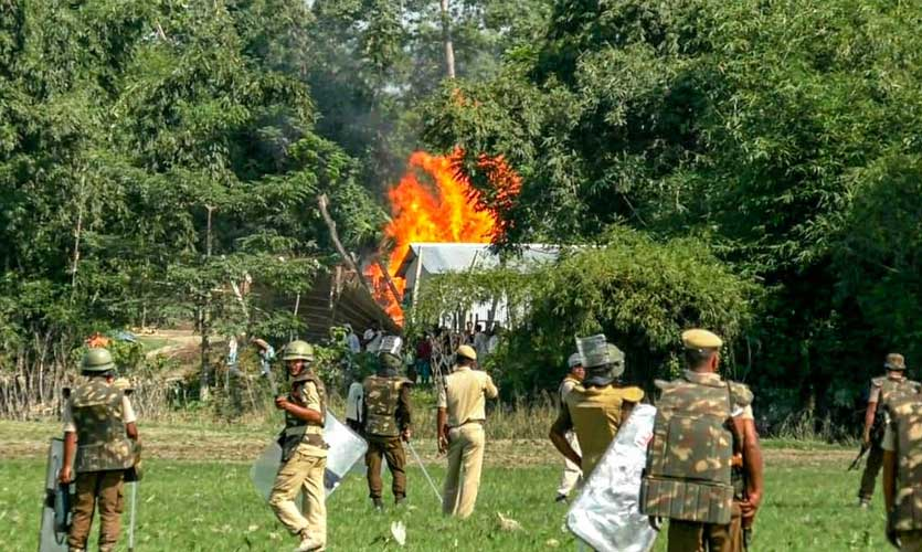 Assam: What Is The Anti-Encroachment Eviction Drive?