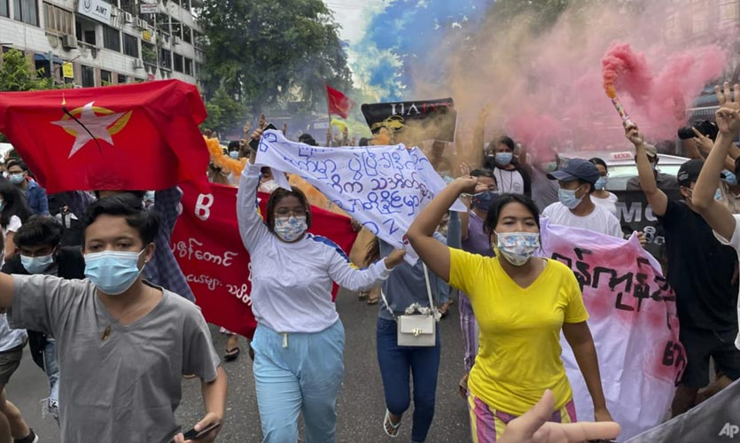 Myanmar To Release Over 5,000 Jailed Anti-coup Protesters