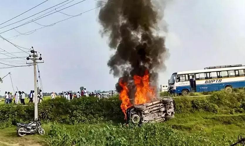 Opposition Leaders Prohibited From Entering Lakhimpur Kheri, Attack BJP Government Over Violence