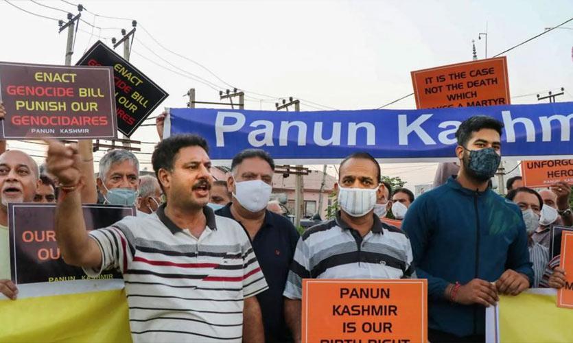 "Protests In Jammu & Kashmir After ""Targeted Killings"" Of Minorities"