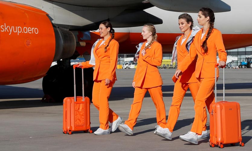Reinventing the style of the skies: SkyUp Airlines innovates cabin crew uniforms
